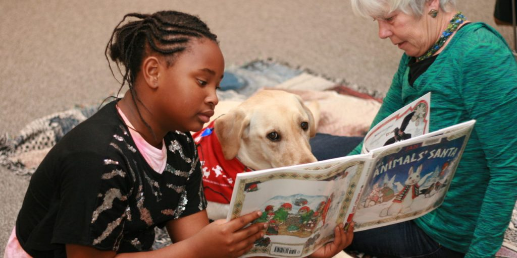 Read to a dog